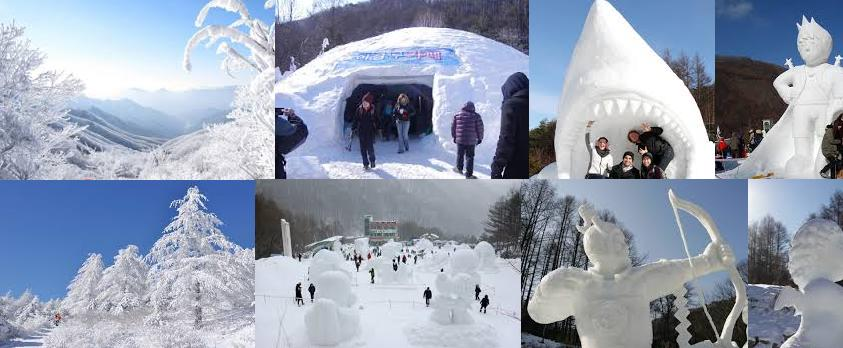 Taebaek snow fest 2