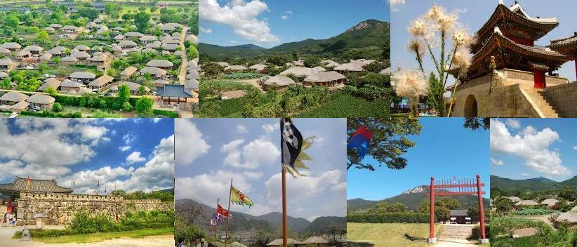 Naganeupseong Boseong 2017 4 월 22-23