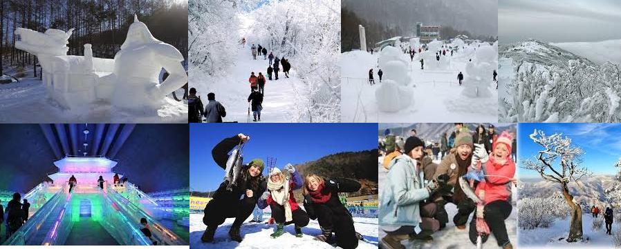 Jan 27-28 Taebaek snow plus Ice fishing